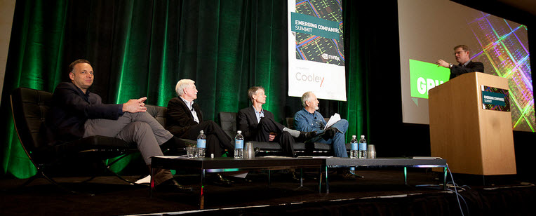 Nvidia's top tech startup contest in 2012.