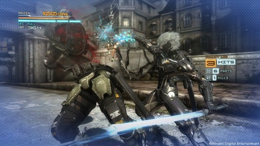 Metal Gear Rising Revengeance - Zandatsu