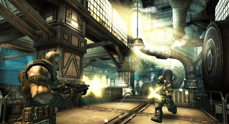 Unity-based shooter Shadowgun.