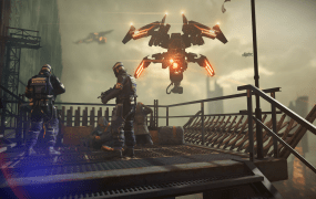 Killzone: Shadow Fall for the PlayStation 4.