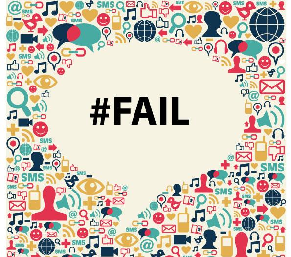 Social media fail