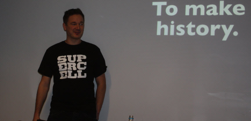 Supercell CEO Ilkka Paananen wants to make gaming history.