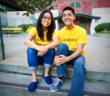 Brother-sister duo Aaron and Adora Cheung are the cofounders of Homejoy.