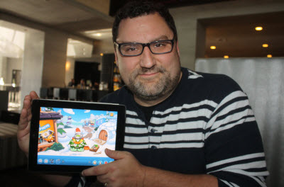 Chris Heatherly, Disney's mobile-gaming boss, discusses the daily retention value of gaming.