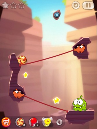 Cut the Rope 2 - Sandy Dam