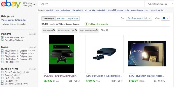 Selling launch consoles on eBay has provided many sellers with a decent revenue stream