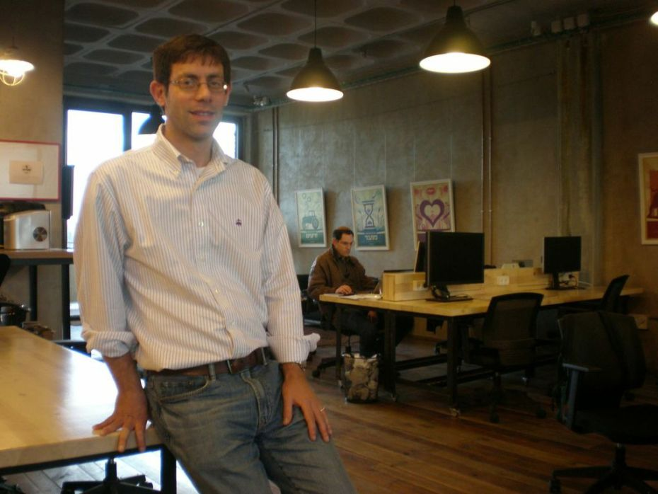 Ben Wiener at Jumpspeed Ventures in Jerusalem