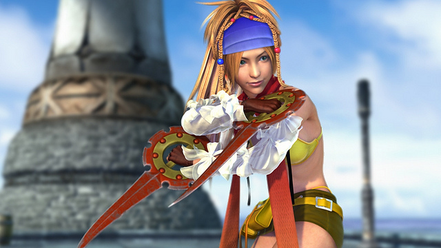 A screenshot from Final Fantasy X X-2 HD Remaster.