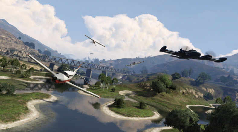 GTA Online has plenty to do, and it's making bank for Take-Two.