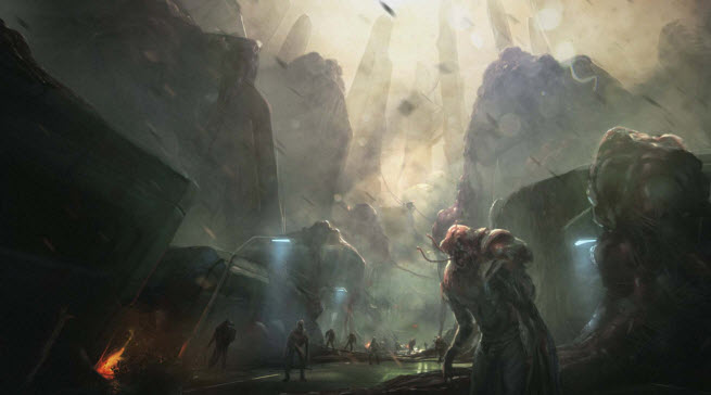 Halo: Spartan Assault cinematic for Xbox One version. Beware the Flood.