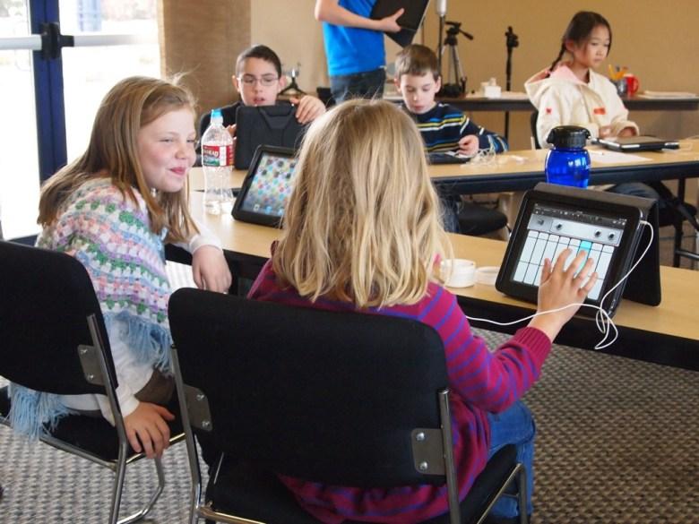 ipad classroom students