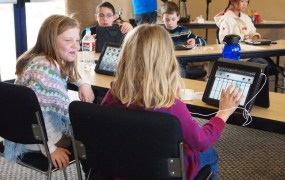 ipad classroom students