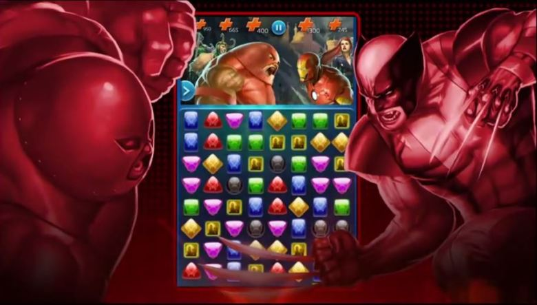 Marvel: Puzzle Quest combines the comic-book world with the puzzle role-playing franchise.