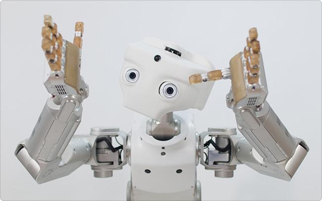 One of Meka Robotics' creations