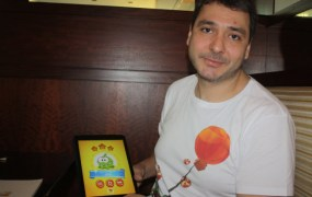 Misha Lyalin, CEO of Zeptolab, maker of Cut the Rope 2.
