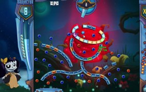 Peggle 2 currently features online multiplayer only.