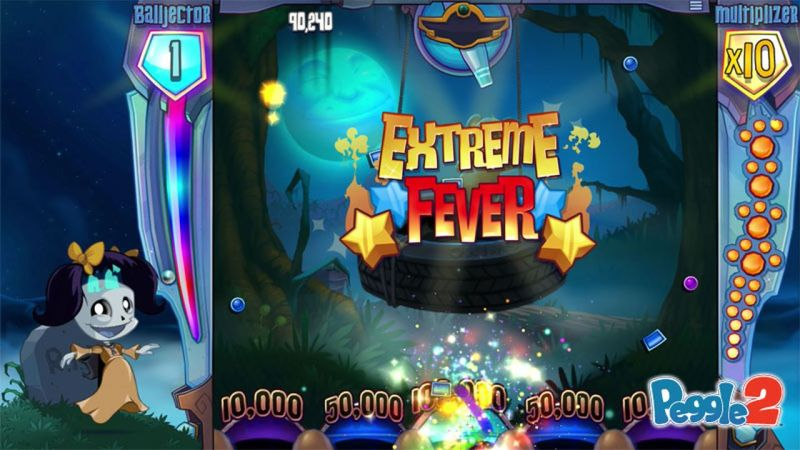 Peggle Master Luna can cause Peggle balls to ghost through blue pegs as if they are nothing but spirits.