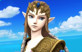Princess Zelda from Twilight Princess in Super Smash Bros.