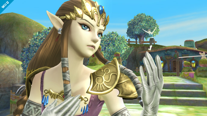 Hey, Zelda. Could you go get kidnapped or something? We need an excuse for a Wii U game.
