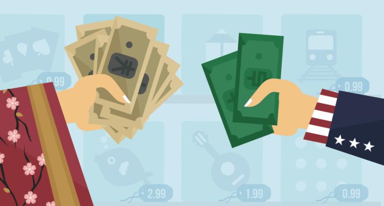 japan usa dollars yen