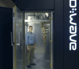 A screenshot from Google's video on quantum computing