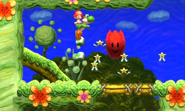 Nintendo platformer Yoshi's New Island for the 3DS.