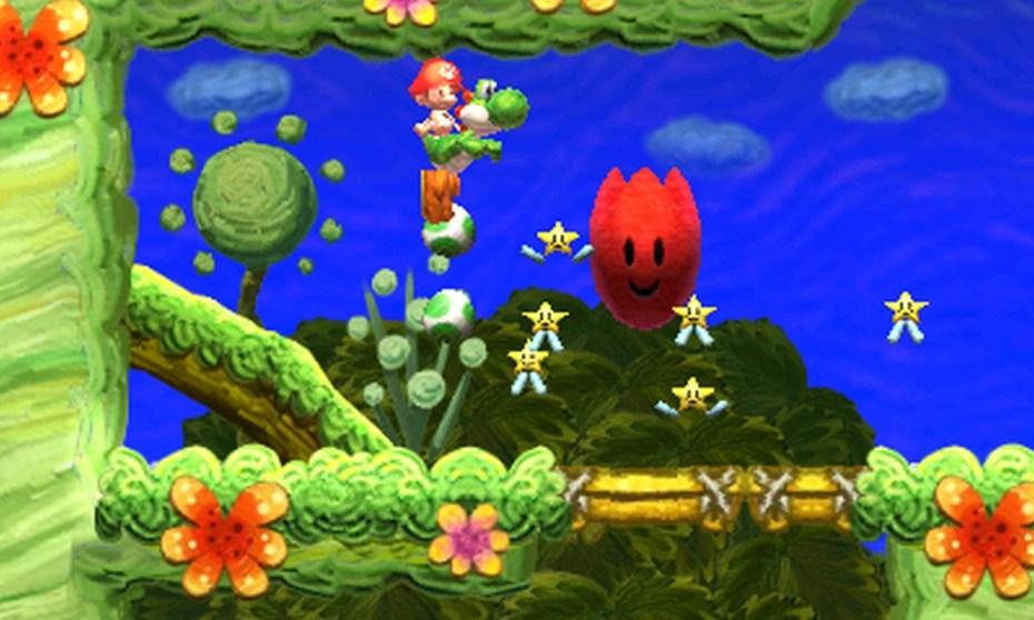 Nintendo platformer Yoshi's New Island for the 3DS.