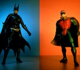 Batman and Robin: friends forever.