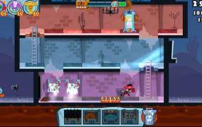 Adult Swim Games' Castle Doombad for iOS.