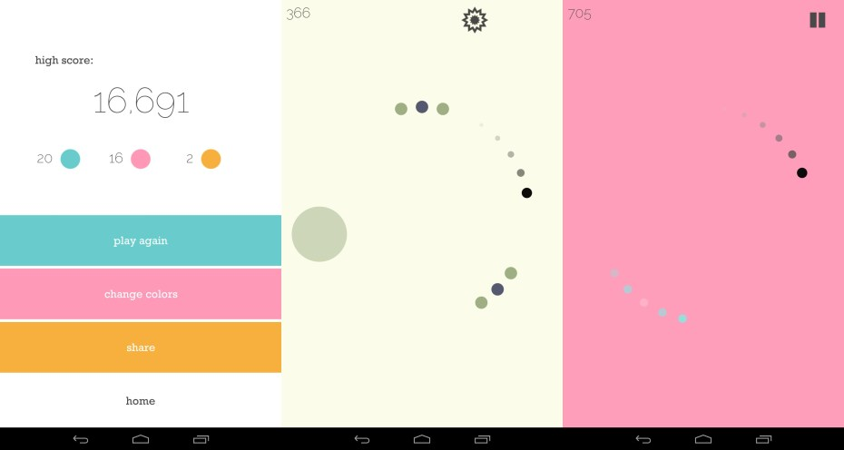 Twenty Percent Games's mobile title Circle Stop for iOS and Android.