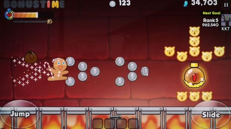 Devsisters' Cookie Run for Android and iOS.