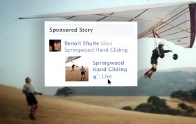 Facebook originally introduced sponsored stories in January 2011.