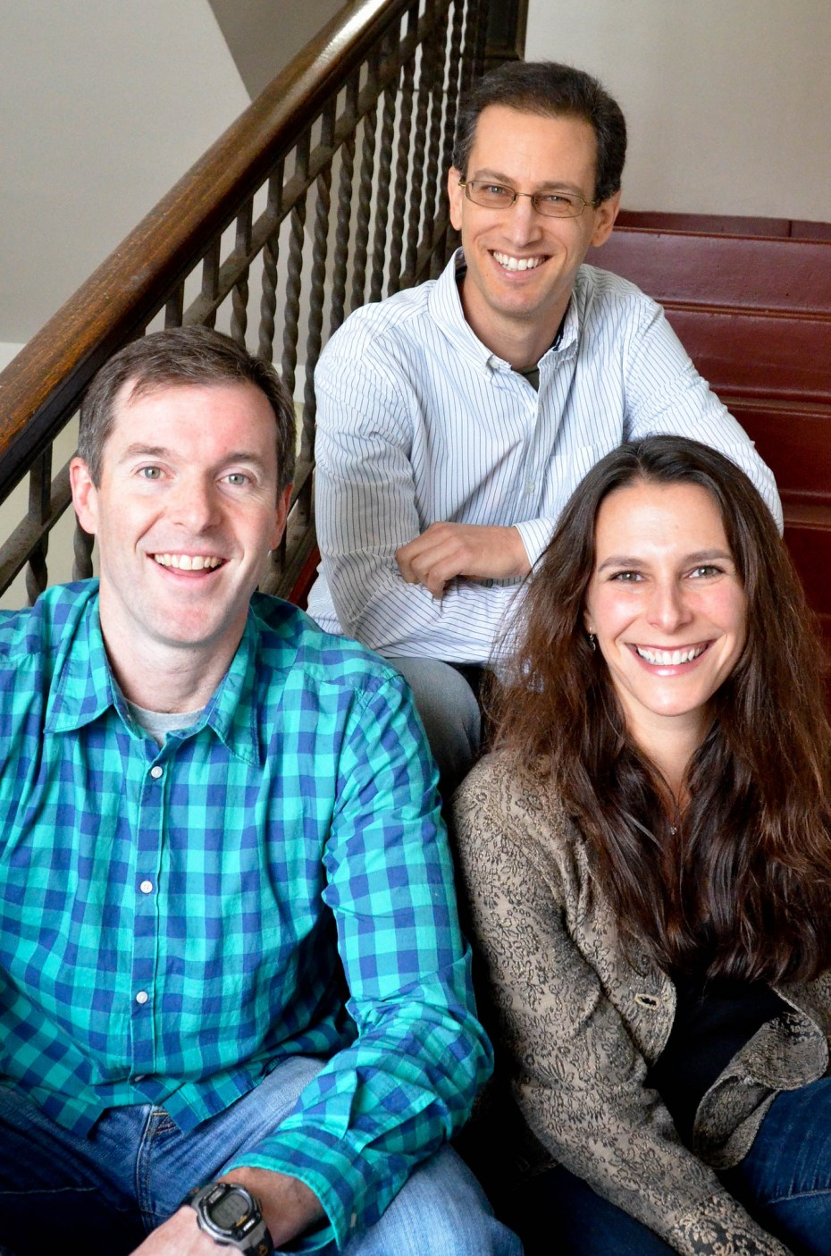 Frontleaf cofounders Tom Krackeler, Karl Goldstein, and Rachel English.