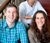 Frontleaf cofounders Tom Krackeler, Karl Goldstein, and Rachel English.