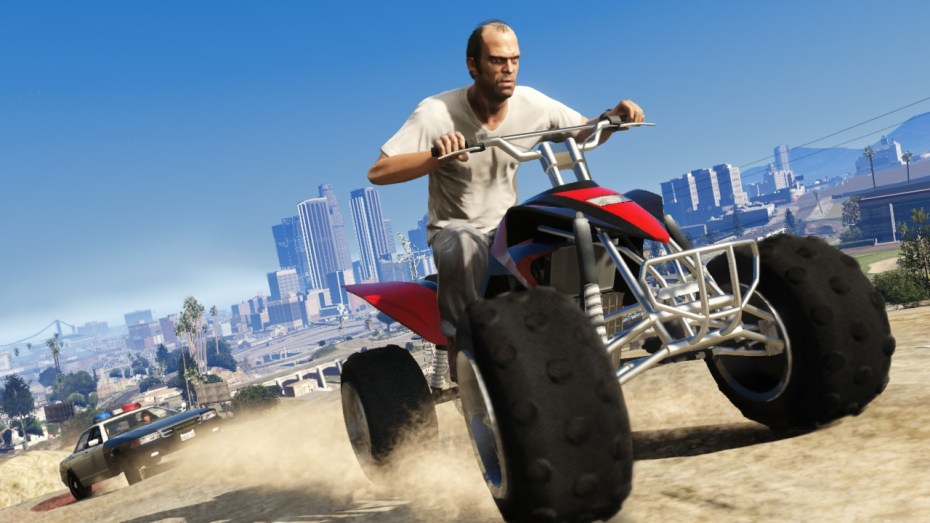 One of the stars of Grand Theft Auto V.