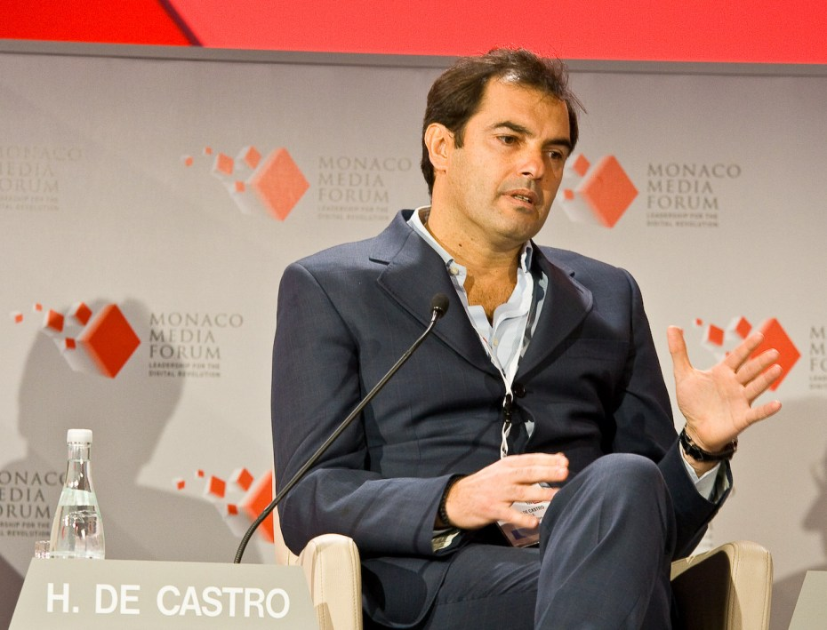 Outgoing Yahoo COO Henrique De Castro