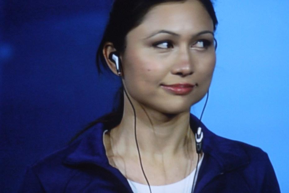 Intel's smart earbuds, designed by Indira Negi