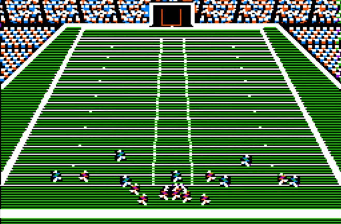 1988's John Madden Football for MS-DOS.