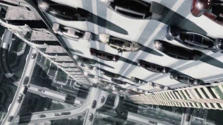 Automated cars, as featured in Minority Report