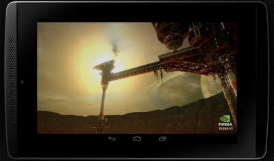 Demo of UE4 game running on Tegra K1