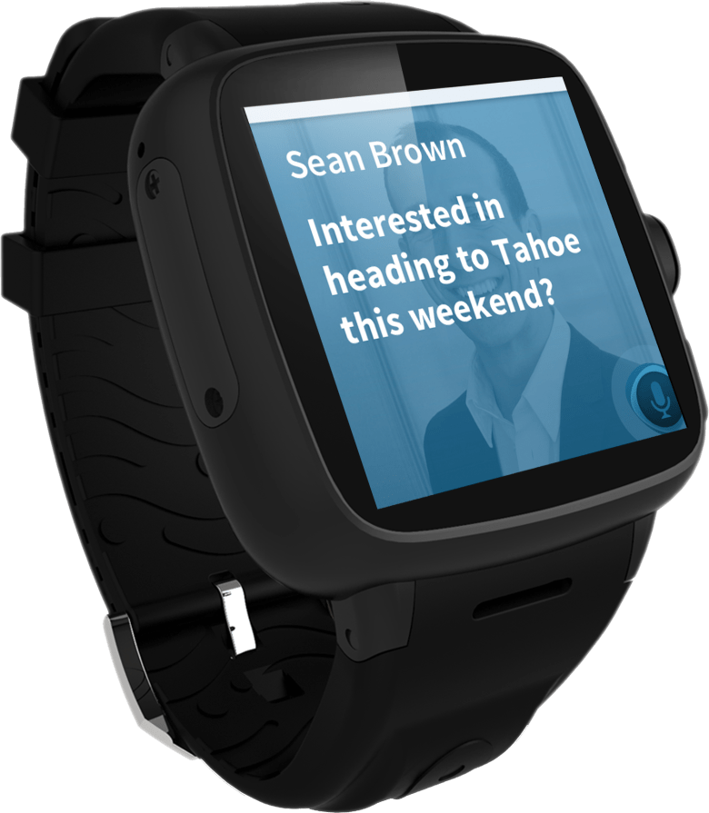 Omate's smartwatch will include Nuance's Dragon Mobile Assistant for voice-based controls