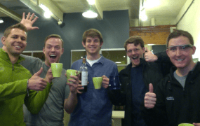 OnTheGo Platforms founding team.