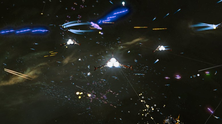 Oxide's Nitrous Engine will power huge battles like in this Star Swarm demo.