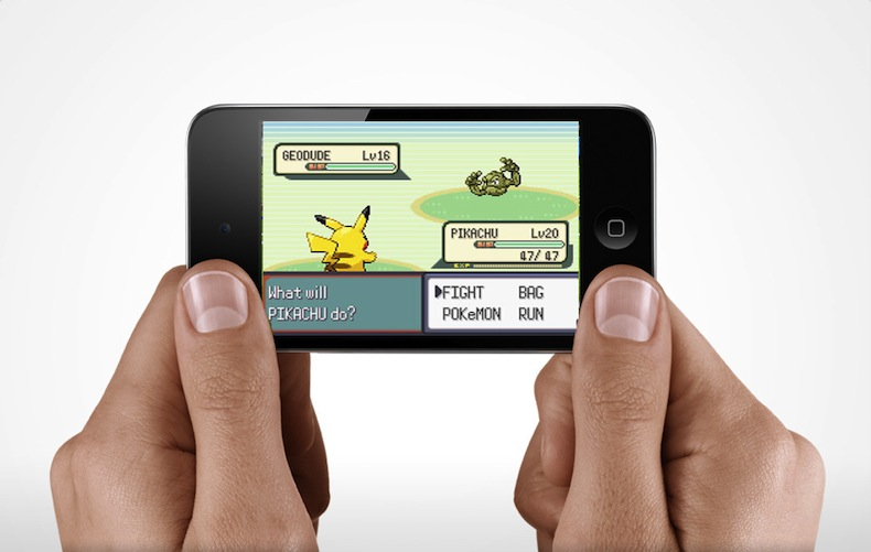 Don't expect Pikachu to gallivant about on your iPhone.