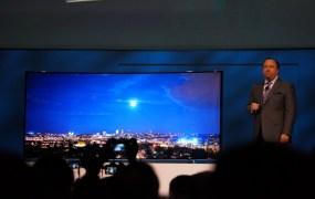 Samsung's 110-inch curved 4K HDTVa