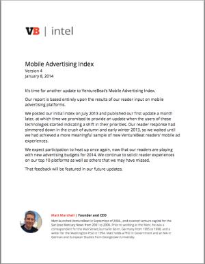 VB Mobile Ad index