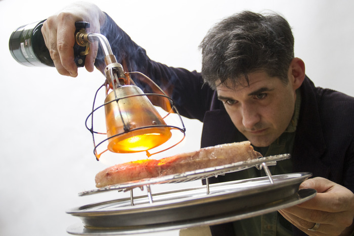 The Searzall is a blowtorch you can use on-the-go for broiling. It's on Shopstarter.