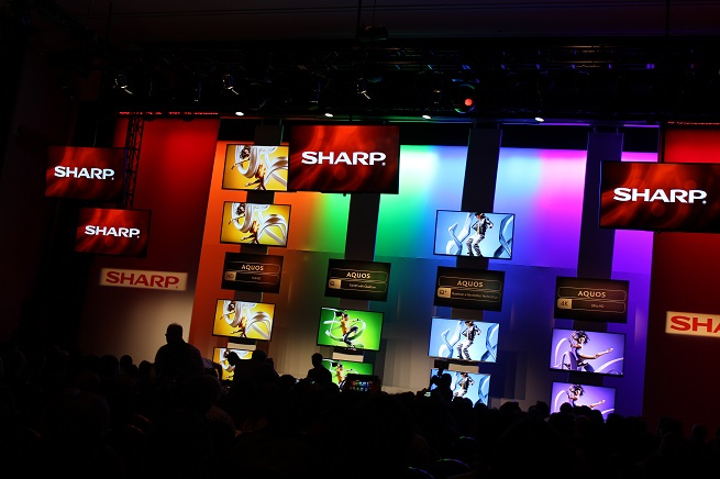 Sharp TVs at CES 2014