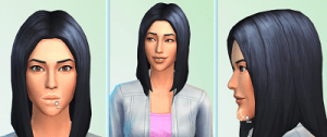 Female character in The Sims 4
