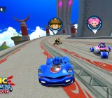 Sonic All-Stars Racing Transformed in action for mobile.